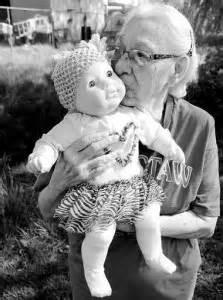 Many Alzheimer's patients find joy in baby dolls