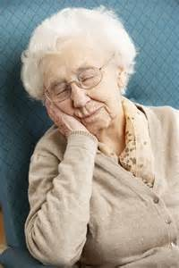 The elderly need a lot of sleep